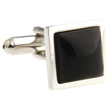 Black Square Onyx Cufflinks