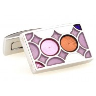 Coflorul Rectangle Cufflinks