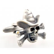 Pirates of the Caribbean Skull Cufflinks