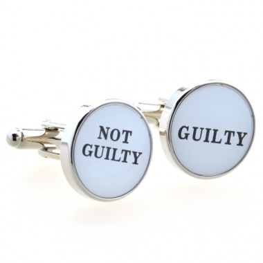 Not Guilty Cufflinks